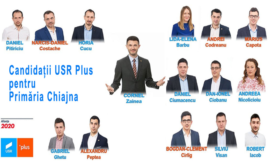 Candidatii USR Plus la Primaria Chiajna